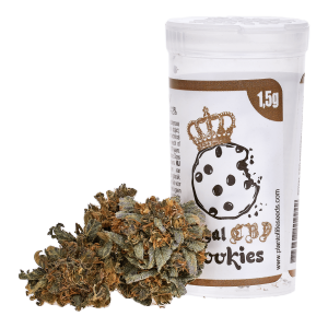 POL Susz konopny kwiat 4% CBD Royal Cookies 1,5g
