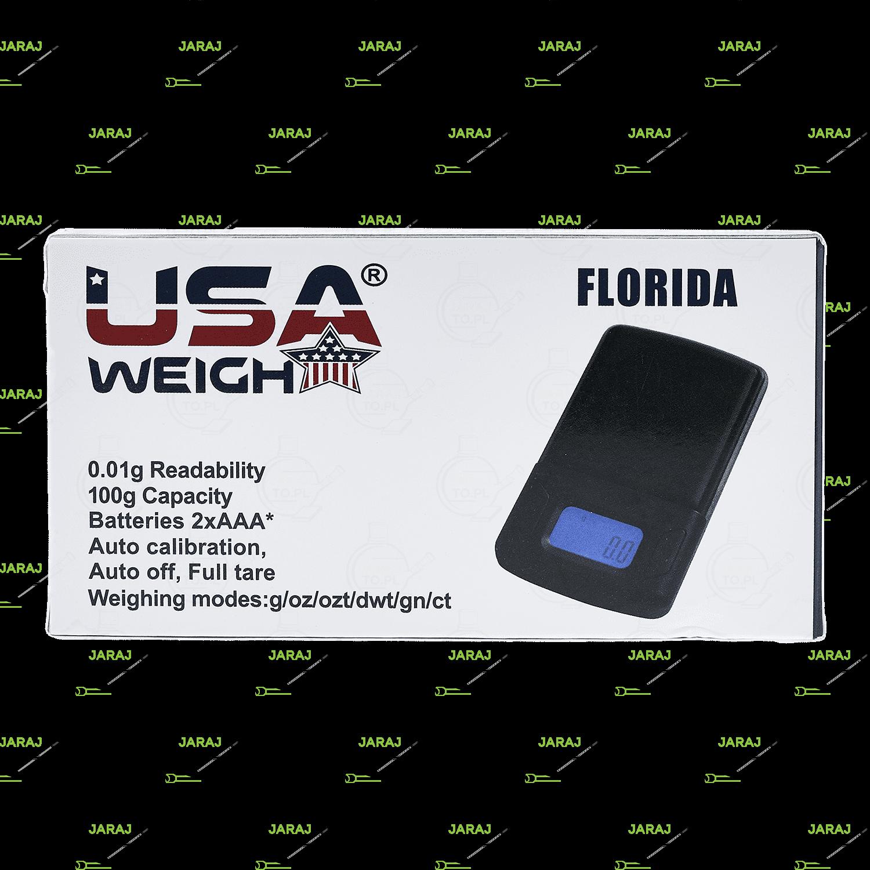 Waga elektroniczna USA Florida | 100 x 0.01g