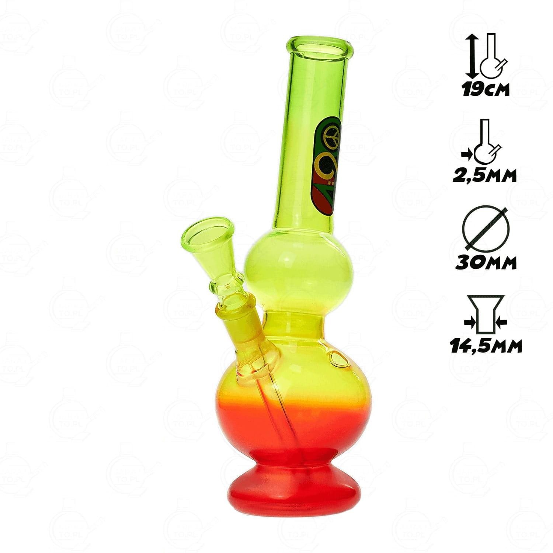 Image of Bongo Greenline Rasta 2 x Bubble 23cm